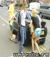 Girl-Loses-Skirt-On-Car.mp4